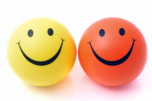 happy-faces-balls-yellow-orange-smile